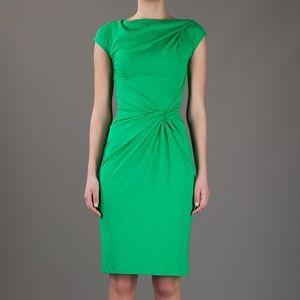 Michael Kors gathered & draped detail Dress